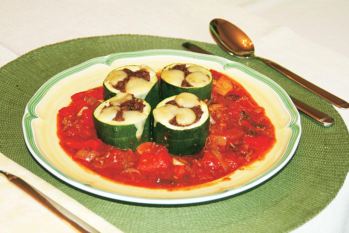 Zucchini Gefuellt