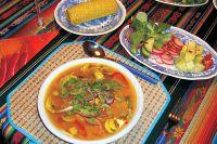 Ceviche de pescados (kalte Fischsuppe)