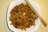 Chinesische Nudeln mit Kraut