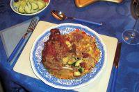 Conejo en salmorejo (Kaninchen in kanarischer Sauce)