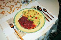 Lammkoteletts mit Gemüse-Cous-Cous