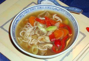 Kuttelsuppe (Chinesische Flecksuppe)