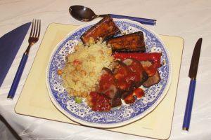 Entenbrüste in Tomaten-Honig-Sauce